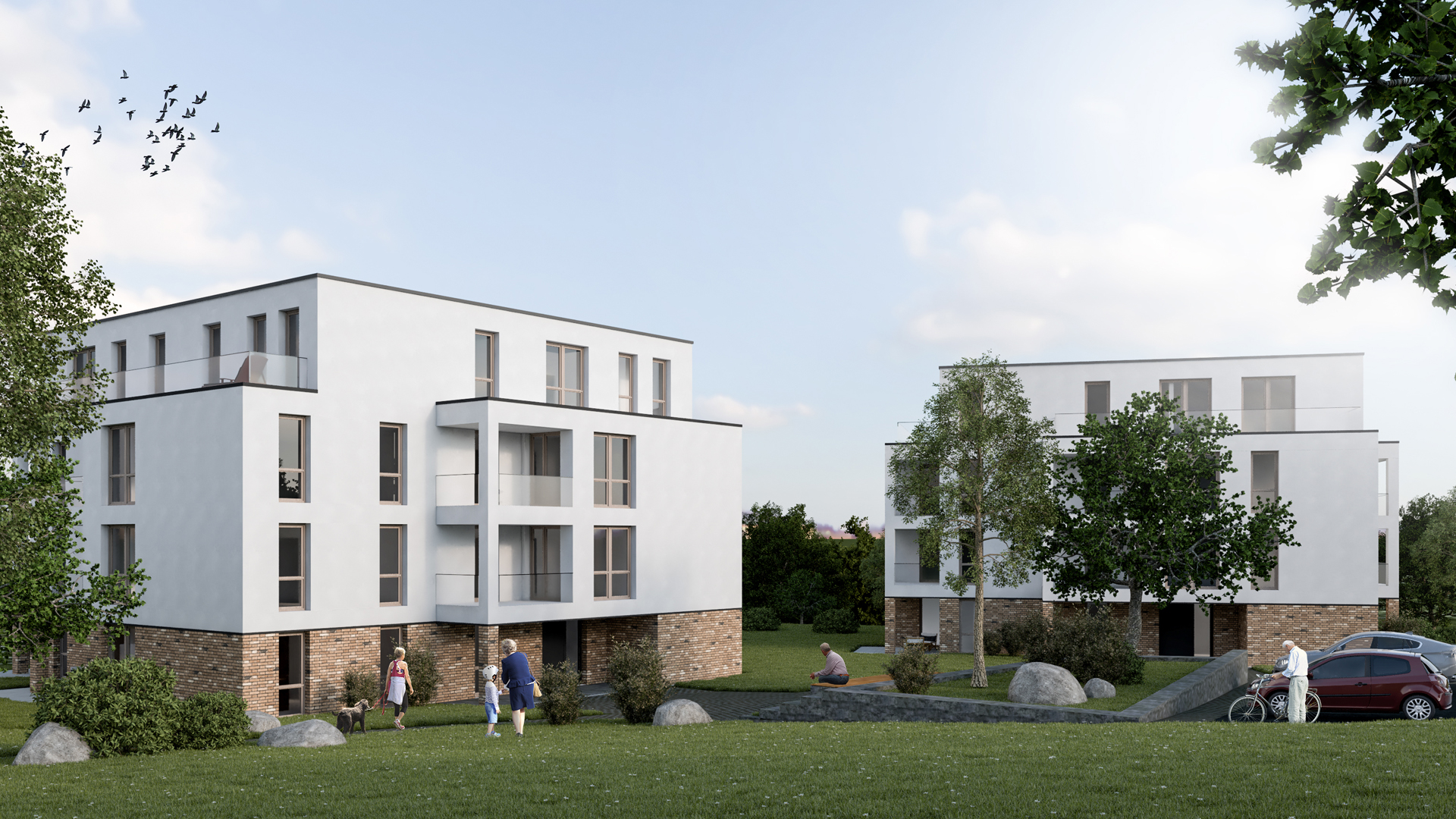 Hirsch Architekten wohnpark bad harzburg hirsch architekten